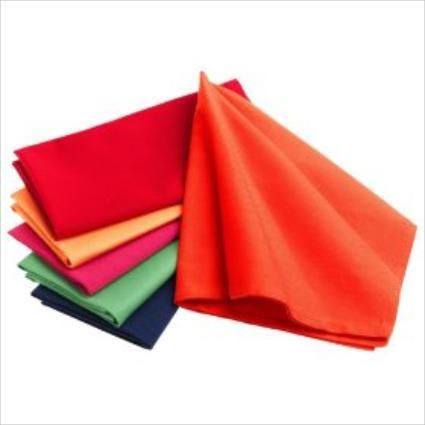 assorted color cloth napkins