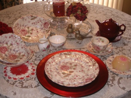 Victorian Table Setting