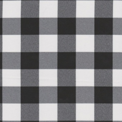 Black Gingham Handkerchief