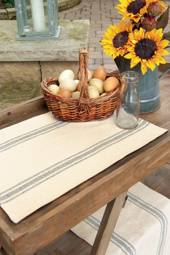 Market Stripe Table Runner