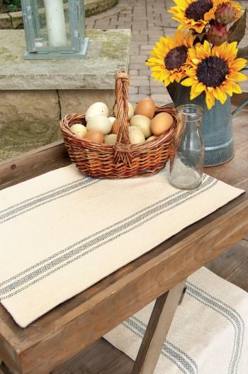 Market Stripe Table Runner