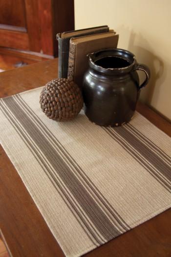Parchment Stripe Placemat