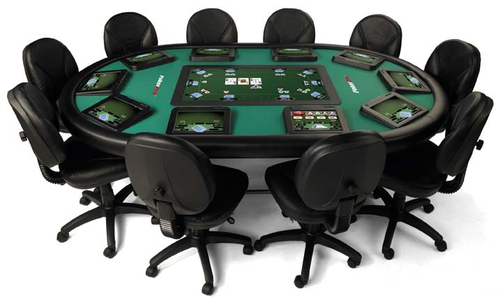 Poker Card Table