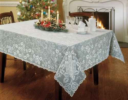 Holly Glow Tablecloth
