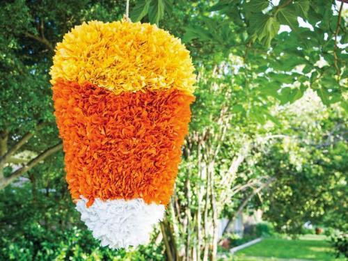 Candy Corn Pinata