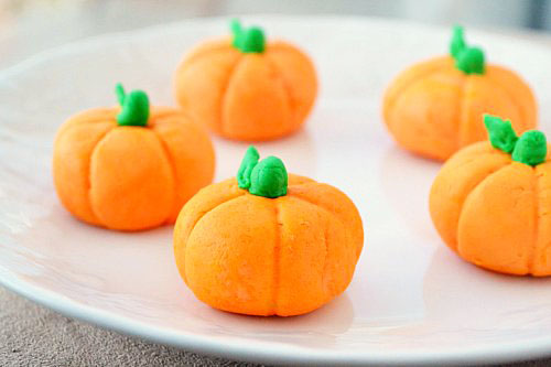 Pumpkin Fondant