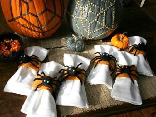 Spider Napkin Rings
