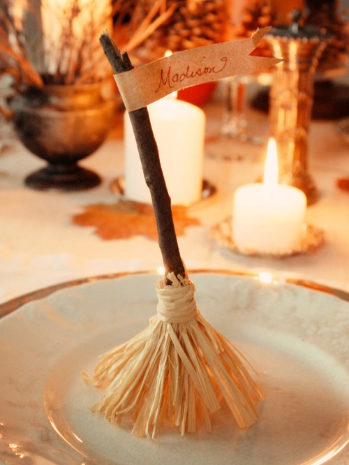 Witches Broom Placecard