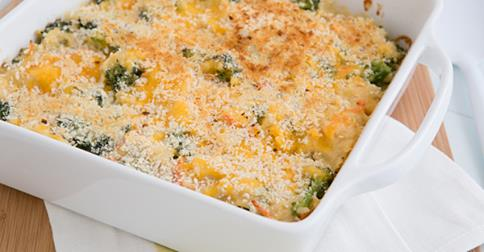 Broccoli Chedder Rice Casserole