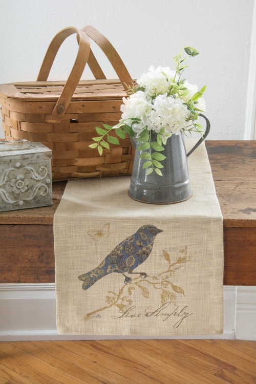 Meadow Song Table Runner