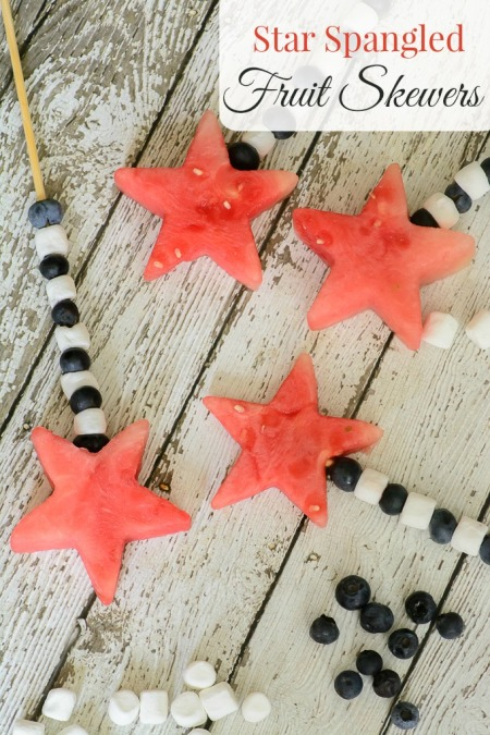 star spangeled fruit skewers
