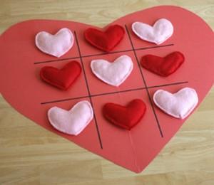 Valentines Tic Toc Toe