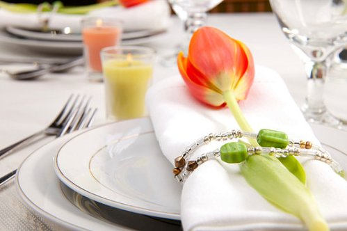 cloth napkin ring idea