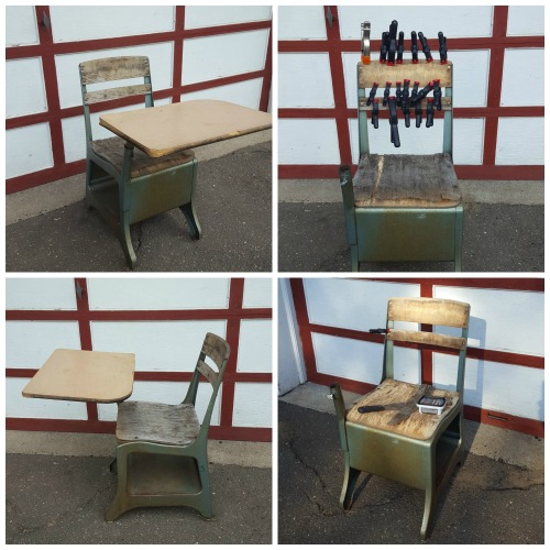 School Desk Collage 1