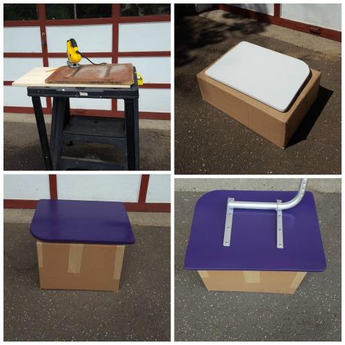 School Desk Collage 2