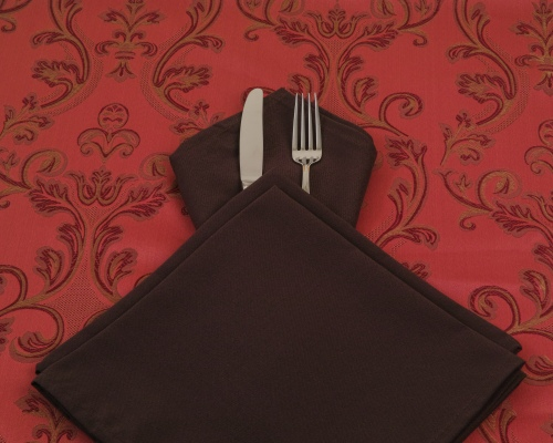 chocolate-cloth-napkin