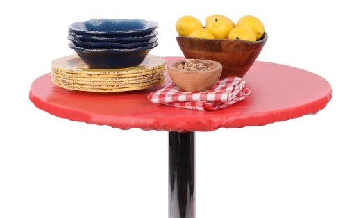 Fitted Vinyl Tablecloth Ruby Red.jpg